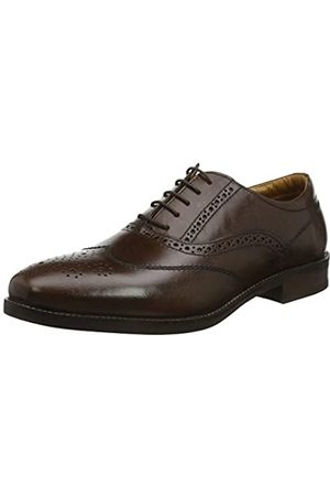 REK69 #Red Tape Carlton, Zapatos de Cordones Oxford para Hombre, (Brown 0)