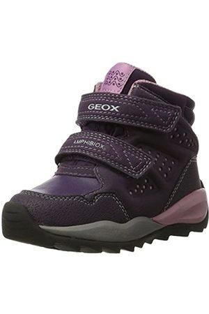 Geox J Orizont B ABX F, Botas de Nieve para Niñas, Morado (Violet)