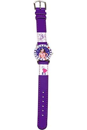 Disney 117014 - Reloj de Pulsera niña, Piel