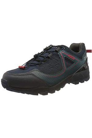 Jack Wolfskin Cascade Hike XT Texapore M, Zapatos de Low Rise Senderismo para Hombre, (Dark Blue/Red 1178)