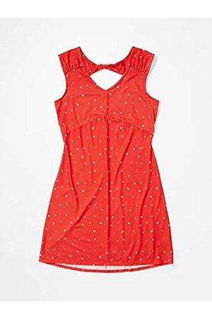 Marmot Wm's Annabelle Dress Vestido Largo, con Tirantes, Protección UV, Transpirable, Secado Rápido, Mujer