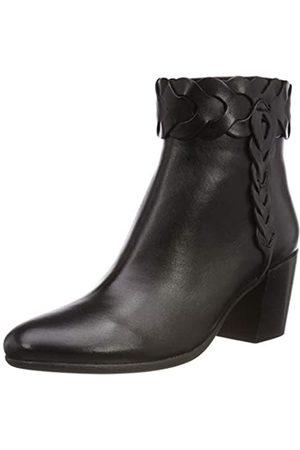 Geox D New Lucinda a, Botines para Mujer, (Black C9999)