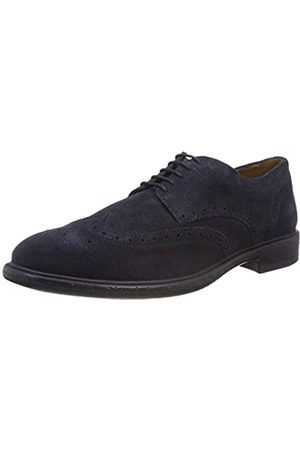 Geox U Terence a, Zapatos de Cordones Brogue para Hombre