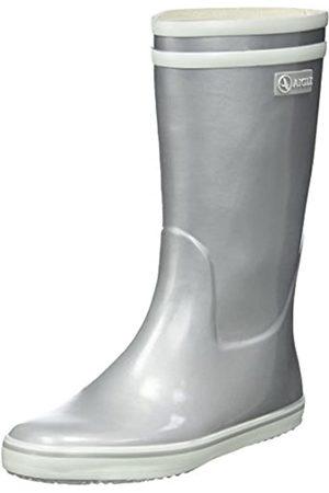 Aigle Malouine - Botte de pluie - Femme - Argent (Silver) - 38 EU