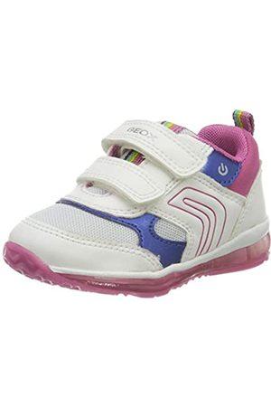 Geox B Todo Girl B, Zapatillas para Bebés, (White/Fuchsia C0563)