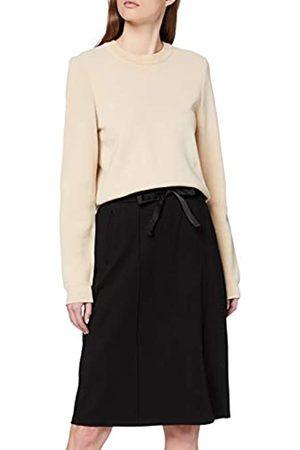 Scotch&Soda High Waist Skirt In Clean Sweat Quality Falda