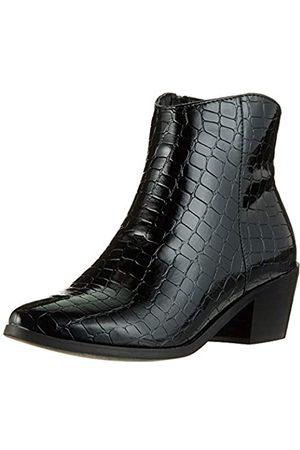 Pieces Pshelen Boot, Botines para Mujer, (Black Black)