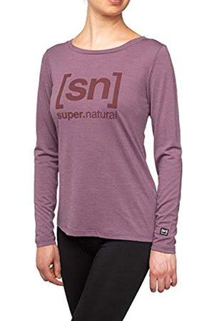 Supernatural W Essential I.d. Camiseta de Manga Larga de LS, Mujer, SNW009063I20XL