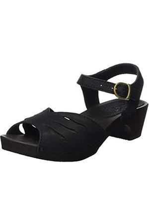 Sanita Fiola Fifty Fley Sandal, Sandalias con Punta Cerrada para Mujer, (Black 2)