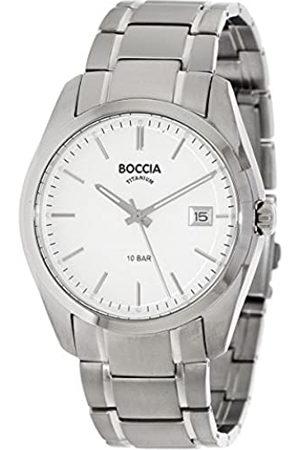 Boccia RelojDigitalparaHombredeCuarzoconCorreaenTitanio3608-03