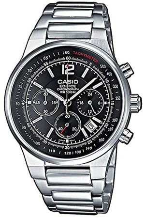 Casio EDIFICE Reloj en caja sólida, 10 BAR, , para Hombre, con Correa de Acero inoxidable