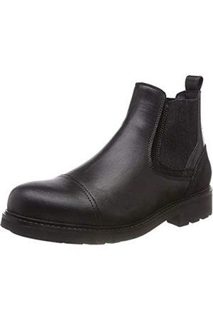 Tommy Hilfiger Active Leather Chelsea Boot, Botas Hombre, (Black 990)