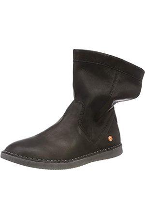 softinos Til402Sof, Botas Plisadas para Mujer, (Black 008)