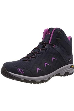 Bruetting Missouri, Zapatos de High Rise Senderismo para Mujer, Marine/Lila