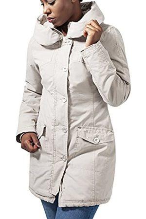 Urban classics Ladies Garment Washed Long Parka Chaqueta