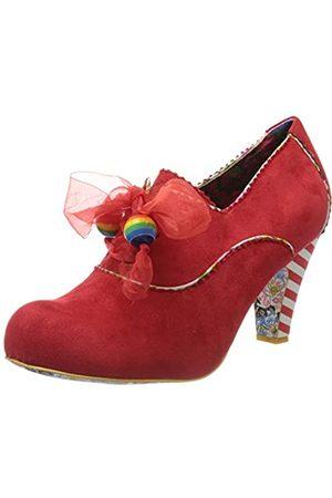 Irregular Choice Summer Berries, Zapatos de tacón con Punta Cerrada para Mujer, (Red Colores)