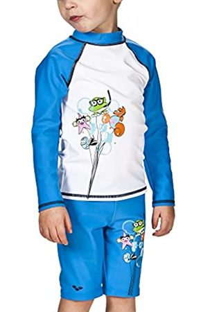 Arena 000434_1-2 Camiseta de Manga Larga con protección Solar, Unisex niños, / (pix)