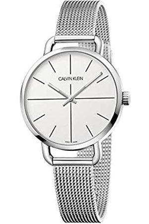 Calvin Klein Reloj Analógico-Digital para Unisex Adultos de Cuarzo con Correa en Acero Inoxidable K7B23126