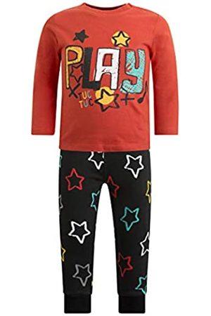 Tuc Tuc Conjunto de Punto de Camiseta más pantalón con Estampados y Etiqueta de la colección.