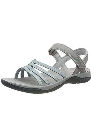 Teva Elzada Sandal Web W's, Sandalia con Pulsera para Mujer, (Gray Mist 748)