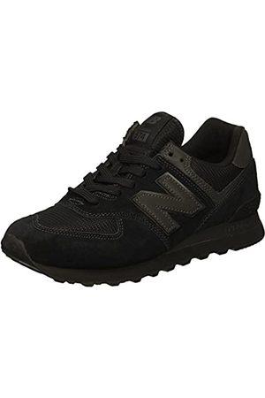 New Balance ML574ETE Zapatillas Hombre, (Black Black)