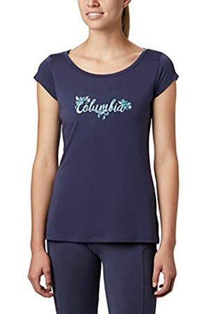 Columbia Shady Grove Camiseta Estampada De Manga Corta, Mujer