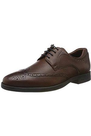 Sioux Forkan-XL, Zapatos de Cordones Brogue para Hombre, (Cafe 003)