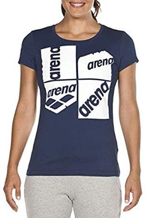 Arena W S/S tee Camiseta de Manga Corta Mujer Essential Silhouette