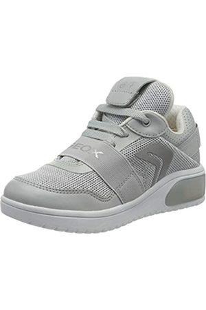 Geox J XLED Girl A, Zapatillas para Niñas, (Lt Grey C1010)