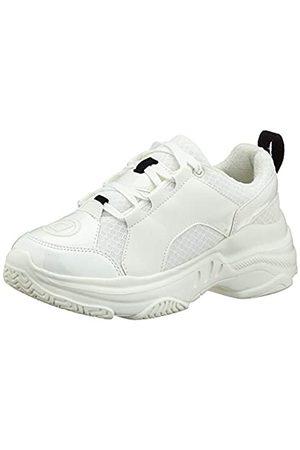 Desigual Sneaker Chunky White, Zapatillas de Deporte para Mujer, ( 1000)
