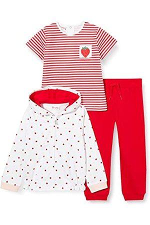 Brums Tuta 3pz:Top Zippato+Pant F.ina+t-Shirt Conjunto de Ropa