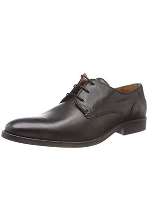 Tommy Hilfiger Essential Leather Lace Up Derby, Zapatos de Cordones Hombre, (Black 990)