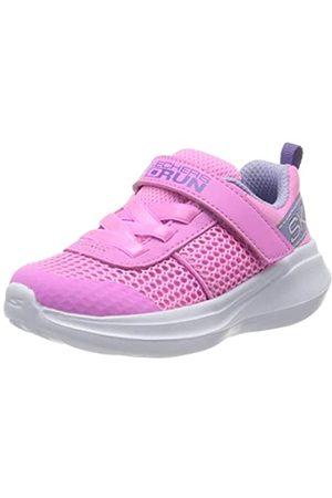 Skechers GO Run Fast, Zapatillas Chica, (Pink Mesh/Lavender Trim PKLV)