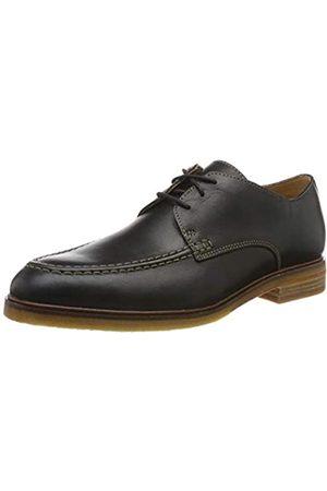 Clarks ClarkdaleApron, Zapatos de Cordones Derby para Hombre, Black Leather