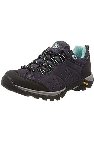 Bruetting Mount Bona, Zapatos de Low Rise Senderismo para Mujer, Morado Lila/Schwarz/Türkis