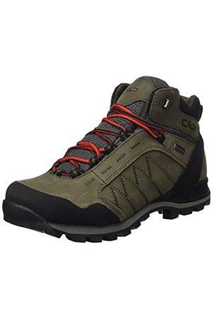 CMP Thiamat Mid Trekking Shoe WP, Botas de Senderismo para Hombre, (Wood P961)