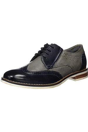 Daniel Hechter 811687021111, Zapatos de Cordones Derby para Hombre, (Light Grey/Dark Blue 1241)