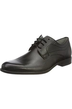 Fretz Men Oskar, Zapatos de Cordones Derby para Hombre, Schwarz (Noir)