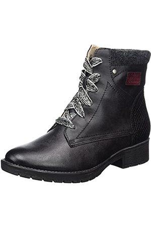 Soft Line 25261, Botas Militar para Mujer, (Black)