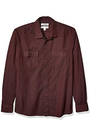 Goodthreads Standard-Fit Long-Sleeve Plaid Twill Shirt button-down-shirts