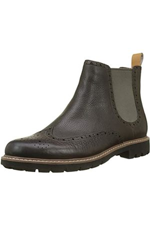 Clarks Batcombe Top, Botas Chelsea para Hombre, (Taupe Leather)