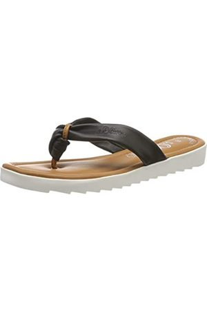 s.Oliver 5-5-27116-32 001, Mules para Mujer, (Black 1)