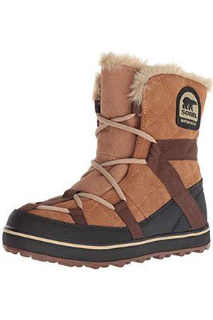 sorel Glacy Explorer Shortie, Botas para Mujer, (Elk 286)