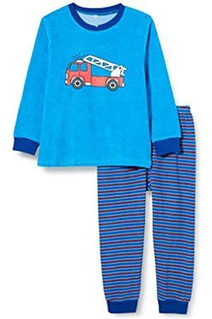 Playshoes Schlafanzug Frottee Feuerwehr Pijama