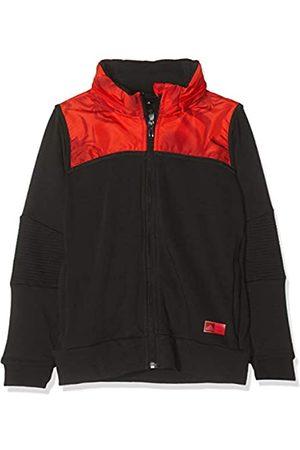 adidas Spiderman Full Zip Hoodie Hooded Track Top, Bebé-Niños, (Black/Active Red/Black)