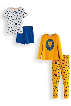 RED WAGON Marca Amazon - Pijama de Satén Niños, Pack de 2, 140