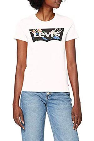 Levi's The tee Camiseta de Manga Corta, (Floral Filled Batwing White+ 0794)