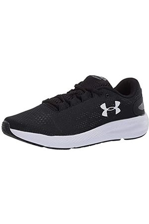 Under Armour Women's Charged Pursuit 2 Laufschuhe, Zapatillas de Running para Mujer, (Black/White/White (001) 001)