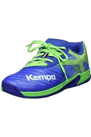 Kempa Wing 2.0 Junior, Zapatillas de Balonmano Unisex Niños, (Azuray/Vertec Printemps 01)