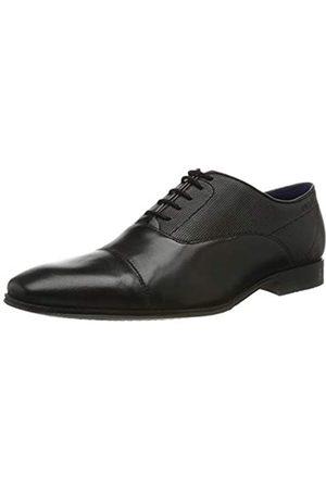 Bugatti 311666111000, Zapatos de Cordones Derby para Hombre, (Schwarz 1000)